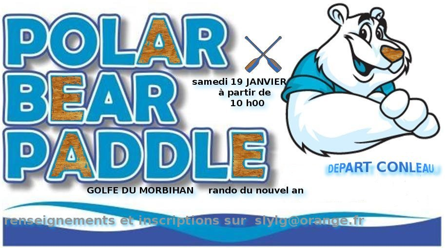 rando du nouvel an   2013  golfe du morbihan dans news polar-bear-paddle-20131
